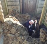 Drain Excavating Works